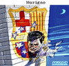 Cartoon: MURIGNO (small) by portos tagged mourinho,real,madrid,barcelona