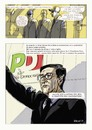 Cartoon: The X Fin Story page 6 (small) by portos tagged fini,sub,xfile,president,chamber,deputies