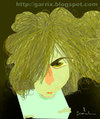 Cartoon: Syd Barrett (small) by Garrincha tagged pink floyd music rock guitar