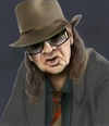 Cartoon: Udo Lindenberg (small) by Sigrid Töpfer tagged prominente