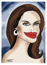 Cartoon: angelina jolie portre (small) by saadet demir yalcin tagged ajolie