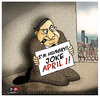 Cartoon: APRIL 1 (small) by saadet demir yalcin tagged saadet,sdy,syalcin,turkey,april1,nisan1,jokedays
