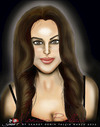 Cartoon: Monica Bellucci (small) by saadet demir yalcin tagged saadet,sdy,monica