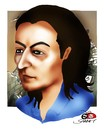 Cartoon: OGUZ GUREL -2 (small) by saadet demir yalcin tagged oguzgurel,saadetyalcin