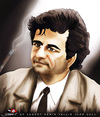 Cartoon: Peter Falk (small) by saadet demir yalcin tagged saadet,sdy,peterfalk,columbo,turkey,tv,portrait