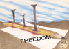 Cartoon: FREEDOM (small) by T-BOY tagged freedom
