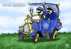 Cartoon: OLD POLICE (small) by T-BOY tagged old,police