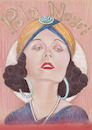 Cartoon: POLA NEGRI (small) by T-BOY tagged pola,negri
