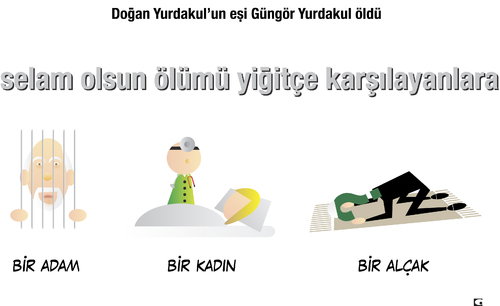 Cartoon: selam olsun (medium) by gulekk tagged dogan,yurdakul,gungor
