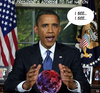 Cartoon: obama (small) by gulekk tagged president,usa,fortune,teller
