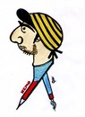 Cartoon: kemo (small) by Bejan tagged kemo
