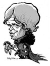 Cartoon: the imp (small) by stieglitz tagged peter,dinklage,game,of,thrones,tyrion,lannister,karikatur,caricature,caricatura
