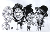 Cartoon: Rolling Stones 1 (small) by Grosu tagged rolling stones rock music band