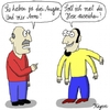 Cartoon: Drei Augen... (small) by KAYSN tagged augen,arme,hose