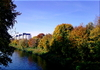 Cartoon: Herbst am Teltowkanal (small) by lesemaus tagged herbst,teltowkanal