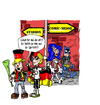 Cartoon: Fans (small) by Toeby tagged fans,cosplay,batman,fußball,toeby,mark,töbermann