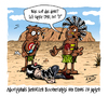 Cartoon: Wissenswertes (small) by Toeby tagged aboriginal,australien,boomerang,emo,emu,outback,wissenswertes,toeby,mark,töbermann