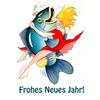 Cartoon: New Year (small) by Pohlenz tagged new,year