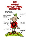 Cartoon: The Modern Revolutionary Trendst (small) by dbaldinger tagged marxist phoney wealthy socialist poser trendy communist