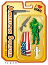 Cartoon: war set (small) by alexfalcocartoons tagged war,soldiers,iraq,american,dead,