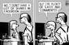 Cartoon: Facebook IPO (small) by sinann tagged facebook,ipo,shares,likes,comments