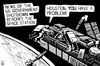 Cartoon: Shutdown Houston (small) by sinann tagged shutdown,us,houston,international,space,station