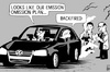 Cartoon: VW scandal (small) by sinann tagged vw,volkswagen,emission,exhaust,scandal