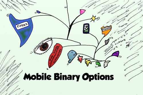 Cartoon: Calder mobile options cartoon (medium) by BinaryOptions tagged mobile,binary,option,options,trading,calder,art,investing,optionsclick,stocks,forex,currency,gold,silver,commodities,market,cartoon,editorial,news