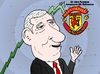 Cartoon: Alex Ferguson Editorial Cartoon (small) by BinaryOptions tagged binary,option,options,trade,trader,trading,sir,alex,ferguson,football,soccer,sports,manager,retirement,retiring,stock,nyse,man,utd,manchester,united,news,caricature,editorial,financial,market