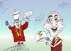 Cartoon: caricature des Tweets Saint (small) by BinaryOptions tagged pape,benoit,dalai,lama,tweets,twitter,tweet,caricature,editoriale,financier,affaires,dessin,anime,comique,optionsclick,options,binaires,option,trade,tradez,trading,nouvelles,infos,news,actualites