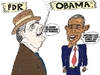 Cartoon: fdr et obama en caricature (small) by BinaryOptions tagged option,binaire,options,binaires,optionsclick,tradez,trader,trading,fdr,roosevelt,obama,caricature,dessin,comique,financier,boursier,economique,solutions,news,infos,nouvelles,actualites