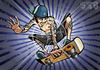 Cartoon: SK8inG (small) by gamez tagged gmz