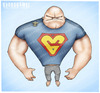 Cartoon: tskePLeh- (small) by gamez tagged balon,balvan,tskeple,gma,gomes,gomez,homer,bart,barack,barak