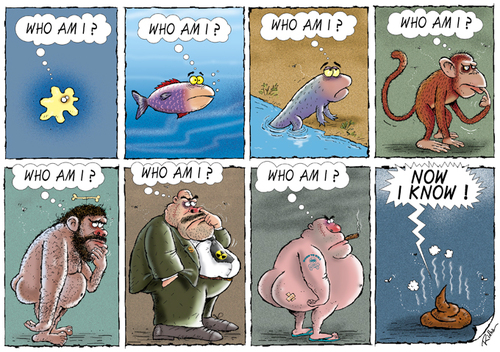Cartoon: Who am I ? (medium) by Ridha Ridha tagged who,am,sharp ...