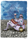 Cartoon: Viva Terror (small) by Ridha Ridha tagged ridha cartoom art anti terrorism scorching criticism