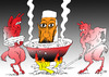 Cartoon: Hell (small) by tunin-s tagged laden