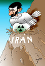 Cartoon: Iranian uranium (small) by tunin-s tagged iranian uranium