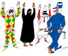 Cartoon: Maskerade (small) by tunin-s tagged maskerade