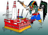 Cartoon: Piracy (small) by tunin-s tagged greenpeace,piracy