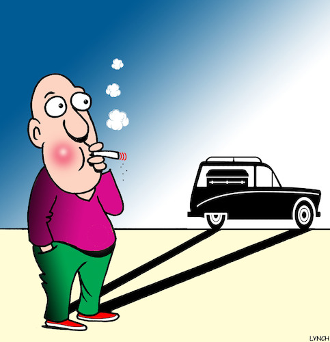 Cartoon: Smokers future (medium) by toons tagged smoking,anti,lung,cancer,smokers,rights,cigarettes,related,illness,hearse,death,disease,funeral,smoking,anti,lung,cancer,smokers,rights,cigarettes,related,illness,hearse,death,disease,funeral