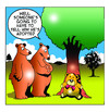 Cartoon: adopted (small) by toons tagged adoption,orphan,teddy,bear,bears,nature,parents,toys