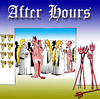 Cartoon: After hours (small) by toons tagged angels,devils,heaven,god,socializing,pubs,beer,drinking,work,after