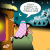 Cartoon: Airbnb (small) by toons tagged airbnb,hotel,rooms,bethleham,birth,of,jesus,christmas,cheap,hotels