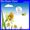 Cartoon: Birds and the bees (small) by toons tagged bees,pollination,pollinate,one,night,stand
