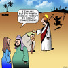 Cartoon: Breast enhancements (small) by toons tagged breast,enlargements,jesus,miracles,enhancement