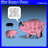 Cartoon: Celebrity (small) by toons tagged pigs,butchers,cut,celebrities,hassles,ham,spare,ribs