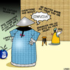 Cartoon: Confucius (small) by toons tagged confucius,proverbs,china,philosopher,graffitti