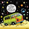 Cartoon: directions (small) by toons tagged space,auto,directions,earth