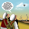 Cartoon: Drone attack (small) by toons tagged victorias,secret,drones,taliban,isis,middle,east,war,catalogues,sex,conflict