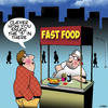 Cartoon: Fast food (small) by toons tagged fast,food,put,the,in